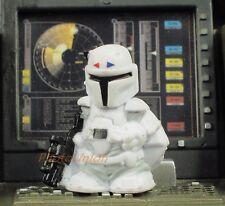 K37 Hasbro Star Wars Fighter Pods Micro Boba Fett Bounty Hunter Concept White