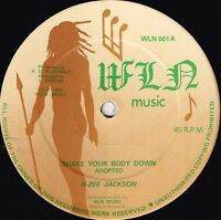 "R ZEE JACKSON-shake your body down    wln music 12""    (hear)    reggae"