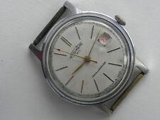 Very Rare Poljot Sputnik 1MChZ Kirovskie Soviet watch 1960`s 17j Magnifer date
