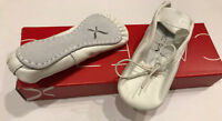 Capezio Child Full Sole Daisy 205X White Ballet Shoes, Toddler 6N, New in Box