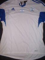 Israel Adult Small XL BNWT New Shirt Jersey Football Soccer Trikot adidas S/S