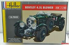 New Heller  80722 1:24th scale Bentley 4.5 L Blower Model Car Kit
