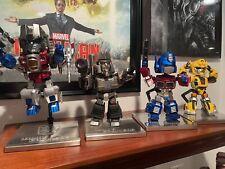 kids logic transformers figure lot set of 4