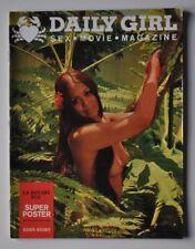 rare * DAILY GIRL ( comme playboy lui ) VOL 1 N°7 1969 érotisme charme cinema X