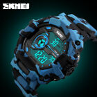 SKMEI Men Digital Military Watch Sports Running Swim LED Wristwatches 1233