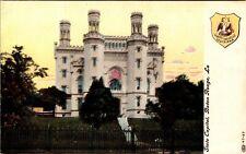 Louisiana Postcard State Capitol Baton Rouge LA Vintage