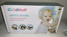 Child Safety Latches Cabinets Drawers
