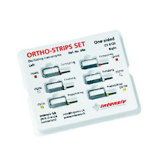 ORTHO-STRIPS ONE-SIDED SET 064 INTENSIV FOR DENTAL STRIPPING.