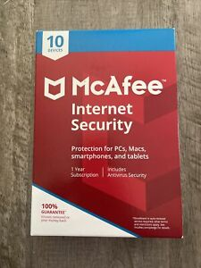 McAfee Internet Security 2021 1 Year 10 Devices