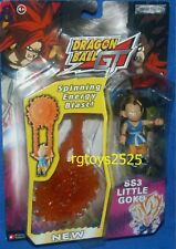 """DRAGONBALL Z GT SS3 GOKU 3"""" with Spinning energy Blast Factory Sealed 2004"""