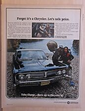 1967 magazine ad for Chrysler - Newport 2-door and Skin-divers, Let's Talk Price