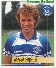 206 ALFRED NIJHUIS NETHERLANDS MSV DUISBURG STICKER FUSSBALL 1995 PANINI