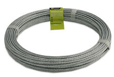 CLOTHESLINE GALVANISED 7 STRAND WIRE - 50m x 3.36mm - CLOTHES LINE WIRE / CORD