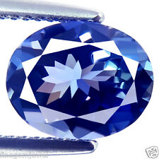 1.83ct IF-FLAWLESS NATURAL D-BLOCK BEST BLUE AWESOME TANZANITE FROM TANZANIA GEM