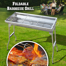 Foldable Large Barbecue Charcoal BBQ Grill Kabob Shashlik Cooking Stove
