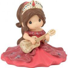 $ New PRECIOUS MOMENTS Disney Porcelain Figurine ELENA OF AVALOR Guitar Crown