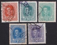 Austria 1917-1918 168-171 Used