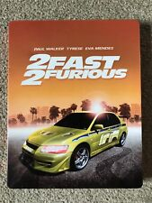 2 Fast 2 Furious Zavvi UK Exclusive Limited Edition Steelbook Blu-Ray RARE