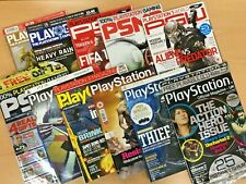 JOB LOT x 11 OF OFFICIAL PLAYSTATION 3 MAGAZINES AVP Heavy Rain Resident Evil