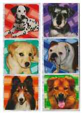 """30 Dogs / Puppy Photos Stickers, Assorted 2.5"""" x 2.5"""" each, Party Favors"""