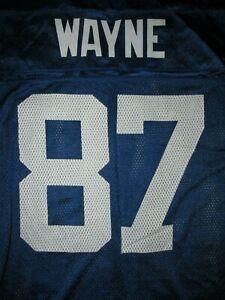 Reebok On Field NFL Indianapolis Colts Reggie Wayne #87 Football Jersey Sz S