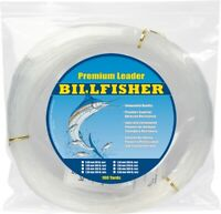 Billfisher LC100-80 Mono Leader Coil 80lb 100yd Clear .90mm