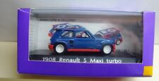 1/43 Scale Solido Renault 5 Maxi Turbo Decals Not Applied  MIB