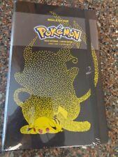 Pokemon Pikachu Moleskine Ruled Notebook Journal (Hardcover) Limited Ed New