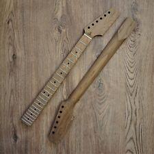 Roasted Maple Tele Telecaster Guitar Neck Unfinished Paddle Headstock 22 Fret