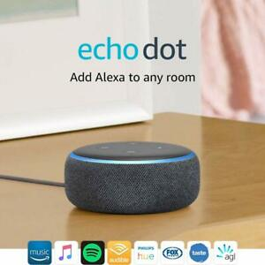 Brand New Amazon Echo Dot 3rd Generation Smart Assistant Speaker Alexa