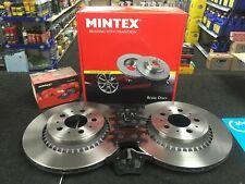 VOLVO XC 90 XC90 D5 SE LUX REAR BRAKE DISC MINTEX REAR BRAKE DISCS & PADS