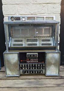 Seeburg Jukebox Wallbox Consolette