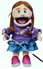 Silly Puppets Amy Glove Puppet Bundle 14 inch with Arm Rod