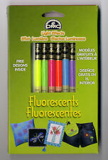 6 Skeins of DMC Cross Stitch Floss / Thread Fluorescent Light Effects LTE317WPK3
