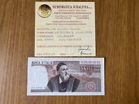 BANCONOTA LIRE 20000 TIZIANO 21 2 1975 RARA certificata SPL