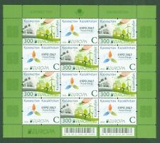 Kasachstan Kazakhstan 2016 - Europa CEPT - think green - 966-67 - Kleinbogen mnh