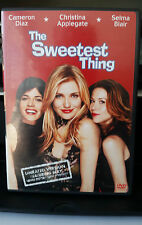The Sweetest Thing Unrated (DVD,2002) Cameron Diaz Christina Applegate