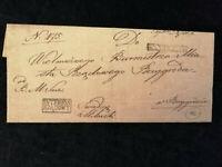 Vorphilatelie Altdeutschland - Brief Faltbrief  Rechnung     Nr.14