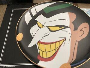 Warner Bros Batman Collector's Plate Limited Edition The Joker