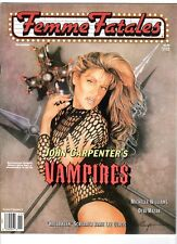 WoW! Femme Fatales V7#6 Vampires! Halloween! Chandra West: Universal Soldier!