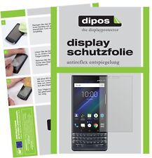 2x Blackberry Key 2 LE Screen Protector Protection Anti Glare dipos