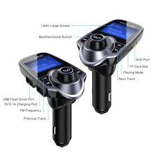 VicTsing Bluetooth Wireless Fm Transmitter Radio Adapter Car Kit 2Usb Mp3 Player