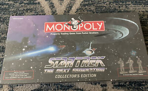 NEW! SEALED MONOPOLY Star Trek Collector's Edition