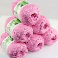 Sale Lot 6 Balls x50g Soft Bamboo Cotton Baby Wrap Hand Knitting Crochet Yarn 30