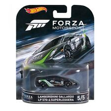2016 HOT WHEELS RETRO ENTERTAINMENT FORZA MOTORSPORT LAMBORGHINI GALLARDO 570-4