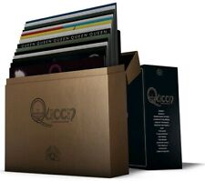"QUEEN ""THE STUDIO COLLECTION""  box 18 lp colorati + libro ediz.limitata nuovo"