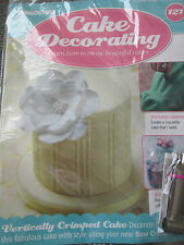 Deagostini Cake Decorating Magazine ISSUE 121 WITH METAL BOW CRIMPER