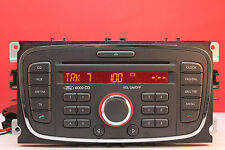 FORD 6000 CD CAR RADIO CD PLAYER MK4 MONDEO FOCUS TRANSIT CONNECT S MAX GALAXY
