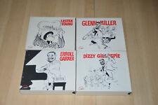 lot 4 coffret CD JAZZ: Lester Young, Errol Garner, Glenn Miller, Dizzy Gillespie