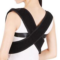 Posture Corrector dos épaule soutien Brace ceinture thérapie réglable adulte